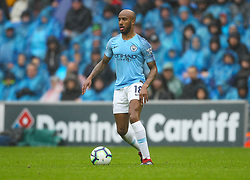 September 22, 2018 - Cardiff City, England, United Kingdom - Fabian Delph of Manchester City in action during the Premier League match between Cardiff City and Manchester City at Cardiff City Stadium,  Cardiff, England on 22 Sept 2018. (Credit Image: © Action Foto Sport/NurPhoto/ZUMA Press)