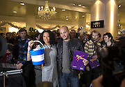 Mel B and  Stephen Belafonte, Make-A-Wish Charity Evening at Selfridges, Selfridges,  400 Oxford St. London. 17 December 2007. -DO NOT ARCHIVE-© Copyright Photograph by Dafydd Jones. 248 Clapham Rd. London SW9 0PZ. Tel 0207 820 0771. www.dafjones.com.