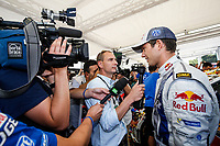 01 Volkswagen Motorsport, Ogier Sebastien, Ingrassia Julien, Volkswagen Polo Wrc, AMBIANCE WINNER, WORLD CHAMPION during the 2014 WRC World Rally Car Championship, rally of Spain from October 23th to 326th, at Salou, Spain. Photo Bastien Baudin / DPPI