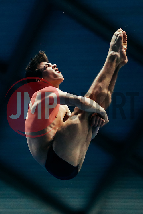 Ross Haslam from City of Sheffield Diving Club competes in the Mens 3m Springboard - Mandatory byline: Rogan Thomson/JMP - 11/06/2016 - DIVING - Ponds Forge - Sheffield, England - British Diving Championships 2016 Day 2.