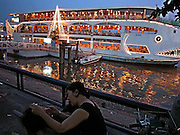 Vietnam, Ho Chi Min City: along the Saigon river.