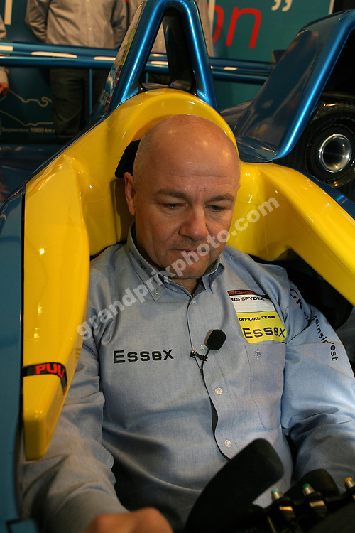 Team Essex Porsche with John Nielsen at the launch in Arhus. Photo: Grand Prix Photo