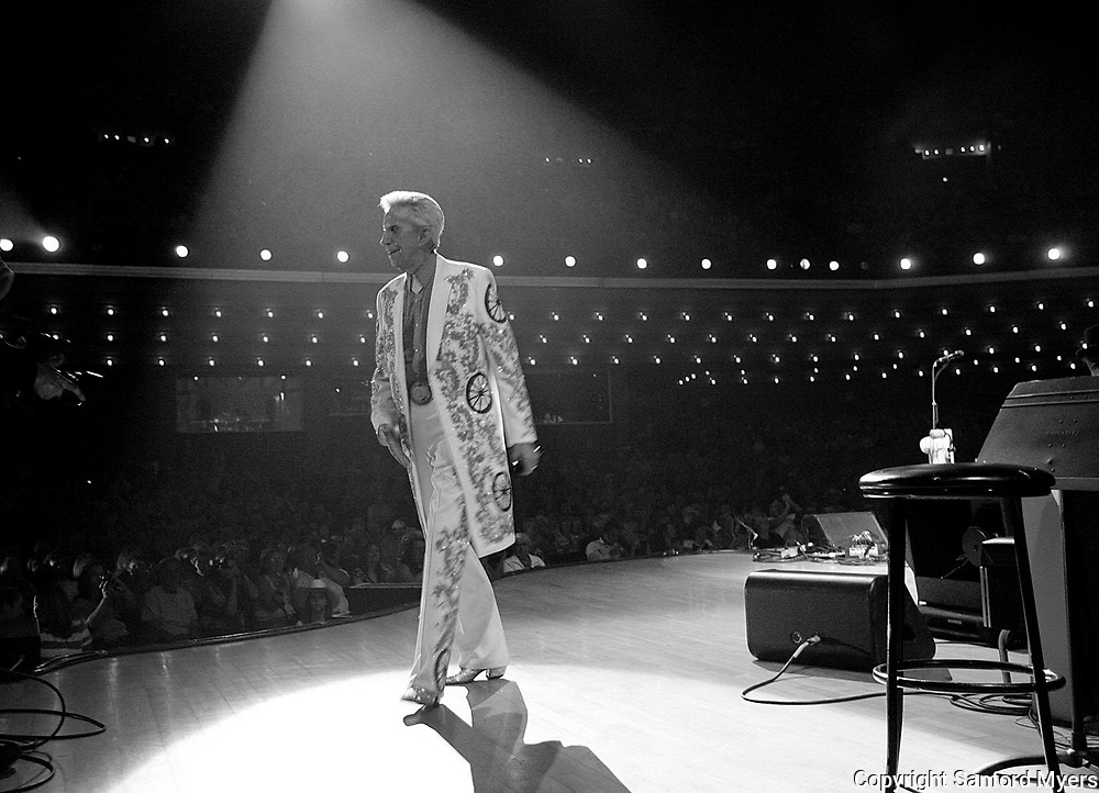 Porter Wagoner exits the stage after a recent performance at the Grand Ole Opry in Nashville, TN.