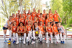 20210512 NED: Photoshoot Orange womens volleybal team 2021, Arnhem