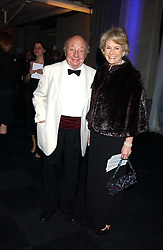 MR & MRS JOHN RITCHIE, he is the father of Guy Ritchie husband of pop star Madonna at the Conservative Party's Black & White Ball held at Old Billingsgate, 16 Lower Thames Street, London EC3 on 8th February 2006.<br /><br />NON EXCLUSIVE - WORLD RIGHTS