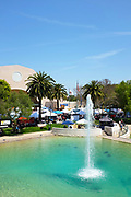 Peace Lake Fountain at Soka University During the 18th Annual International Festival