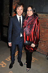 ANDY & PATTI WONG at a party to celebrate the publication of Joseph Anton by Sir Salman Rushdie held at The Collection, 264 Brompton Road, London SW3 on 14th September 2012.