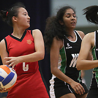 Jurong East Sports Complex, Thursday, May 26, 2016 — Raffles Institution (RI) saw off Hwa Chong Institution (HCI) 68-40 to claim the National A Division Netball Championship title for the third year running.