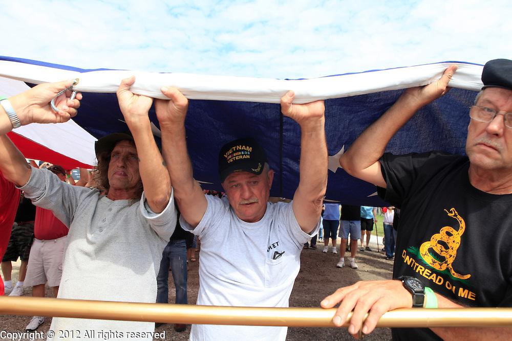 Kokomo Indiana Vietnam Veterans Reunion 2012opening ceremonies