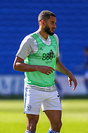Cardiff City's Leandro Bacuna (7) in action during the pre-match warm-up before the EFL Sky Bet Championship match between Cardiff City and Nottingham Forest at the Cardiff City Stadium, Cardiff, Wales on 2 April 2021.