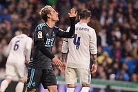 Real Sociedad's Juanmi Jimenez during La Liga match between Real Madrid and Real Sociedad at Santiago Bernabeu Stadium in Madrid, Spain. January 29, 2017. (ALTERPHOTOS/BorjaB.Hojas)