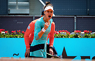 Veronika Kudermetova of Russia in action during the third round of the Mutua Madrid Open 2021, Masters 1000 tennis tournament on May 3, 2021 at La Caja Magica in Madrid, Spain - Photo Rob Prange / Spain ProSportsImages / DPPI / ProSportsImages / DPPI