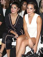 Natalie Anderson & Laura Wright, London Fashion Week SS17 - Rocky Star, Freemason's Hall, London UK, 16 September 2016, Photo by Brett D. Cove