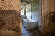 Terme del Corallo or Acque della salute. In the underground thermal baths