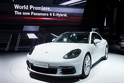 New Porsche Panamera 4 E-Hybrid, at world premiere launch at Paris Motor Show 2016