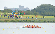 Eton Dorney, Windsor, Great Britain,..2012 London Olympic Regatta, Dorney Lake. Eton Rowing Centre, Berkshire[ Rowing]...Description;  Heat of the  W8+ NED W8+ .Jacobine VEENHOVEN (b) , Nienke KINGMA (2) , Chantal ACHTERBERG (3) , Sytske DE GROOT (4) , Roline REPELAER VAN DRIEL (5) , Claudia BELDERBOS (6) , Carline BOUW (7) , Annemiek de HAAN (s) , Anne SCHELLEKENS (c). ..Dorney Lake. 10:54:56  Tuesday  31/07/2012.  [Mandatory Credit: Peter Spurrier/Intersport Images].Dorney Lake, Eton, Great Britain...Venue, Rowing, 2012 London Olympic Regatta...