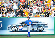 Alfonso Soriano had enough of the beach ball - in Pittsburgh.