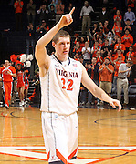 March 1, 2011 - Charlottesville, Virginia-USA; Virginia Cavaliers forward Will Sherrill (22) reacts to a play during an NCAA basketball game against the North Carolina State Wolfpack at the John Paul Johns arena. Virginia won 69-58. Photo/Andrew Shurtleff (Credit Image: © Andrew Shurtleff/ZUMApress.com)