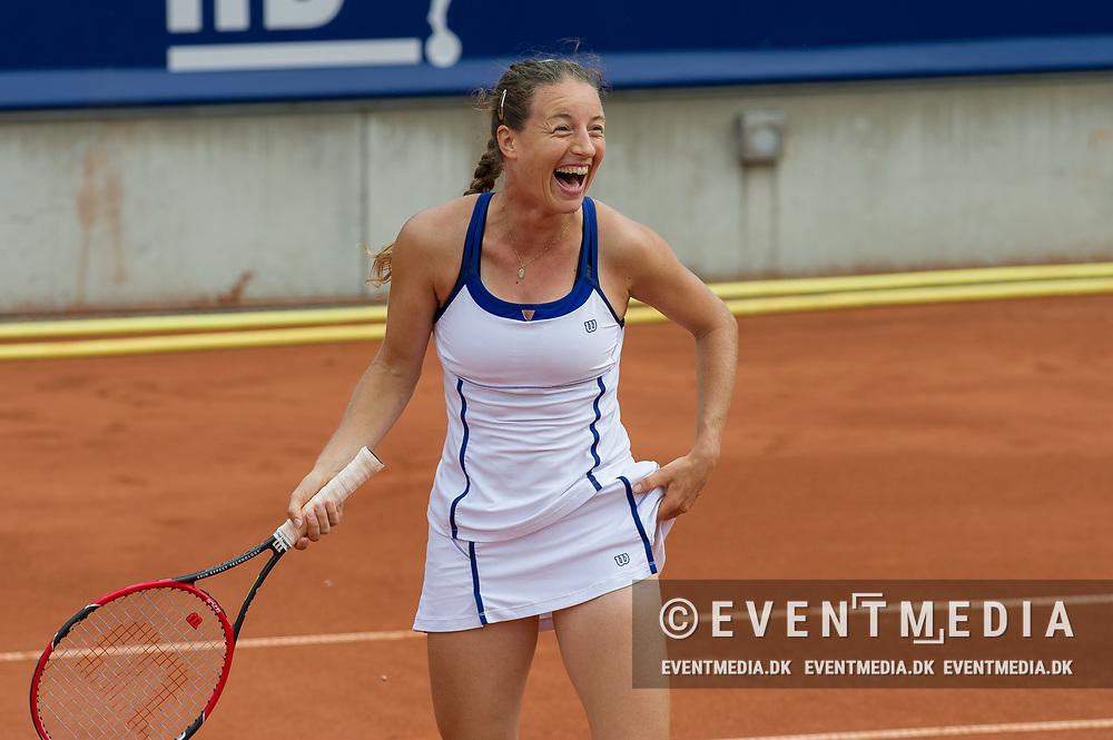 Karen Barritza (Denmark) at the 2017 WTA Ericsson Open in Båstad, Sweden, July 27, 2017. Photo Credit: Katja Boll/EVENTMEDIA.