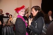 PINKIETESSA, Isabella Blow: Fashion Galore! private view, Somerset House. London. 19 November 2013