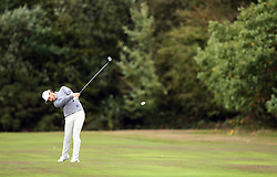 Tommy Fleetwood during day two of the British Masters at Walton Heath Golf Club, Surrey.
