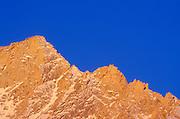 Light snow on the north ridge of Lone Pine Peak, Sierra Nevada Mountains, Inyo National Forest, California