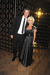 MARK FOSTER and Kristina Rihanoff at the 2008 British Fashion Awards held at the Lawrence Hall, Westminster, London on 25th November 2008.