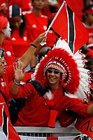 Photo: Glyn Thomas.<br />England v Trinidad & Tobago. Group B, FIFA World Cup 2006. 15/06/2006.<br /> A Trinidad & Tobago fan.