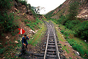 PERU, MACHU PICCHU, TRAIN one of the world's most famous train rides thru Inca Sacred Valley from Cuzco to Machu Picchu