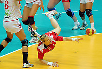 Håndball , 20. desember 2009 , Norge - Spania , Bronse-finale , hvor nordk tok 3. plassen<br /> World Cup China Game to square 3 Spain Norway 20 28 Heidi Løke , Norge<br /> <br /> Norway only