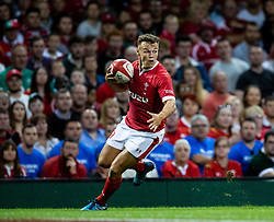 Jarrod Evans of Wales<br /> <br /> Photographer Simon King/Replay Images<br /> <br /> Friendly - Wales v Ireland - Saturday 31st August 2019 - Principality Stadium - Cardiff<br /> <br /> World Copyright © Replay Images . All rights reserved. info@replayimages.co.uk - http://replayimages.co.uk