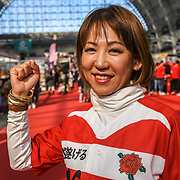 Naomi Suzuki is a singer at Hyper Japan Festival 2019 on 12 July 2019, Olympia London, UK.