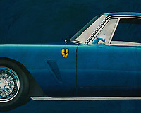 Ferrari 250 GT SWB Berlinetta 1957<br /> Development of the Ferrari 250 GT SWB Berlinetta was handled by Giotto Bizzarrini, Carlo Chiti, and young Mauro Forghieri, the same team that later produced the 250 GTO. Disc brakes were a first on a Ferrari GT, and the combination of low weight, high power, and well-sorted suspension made it competitive. It was unveiled at the Paris Motor Show in October and quickly began selling and racing. The SWB Berlinetta won Ferrari the GT class of the 1961 Constructor's Championship. Also won 1960, 1961 and 1962 Tour de France Automobile before giving ground to the GTO's. -<br /> <br /> BUY THIS PRINT AT<br /> <br /> FINE ART AMERICA<br /> ENGLISH<br /> https://janke.pixels.com/featured/3-ferrari-250-gt-swb-berlinetta-1957-jan-keteleer.html<br /> <br /> WADM / OH MY PRINTS<br /> DUTCH / FRENCH / GERMAN<br /> https://www.werkaandemuur.nl/nl/shopwerk/Ferrari-250-GT-SWB-Berlinetta-1957-zijde/571903/132