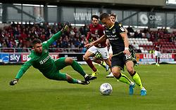 Billy Bodin of Bristol Rovers takes on Matt Ingram of Northampton Town - Mandatory by-line: Robbie Stephenson/JMP - 07/10/2017 - FOOTBALL - Sixfields Stadium - Northampton, England - Northampton Town v Bristol Rovers - Sky Bet League One