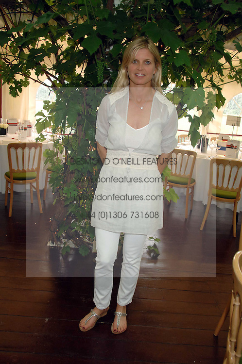 The MARCHIONESS OF MILFORD HAVEN at a charity polo match organised by Jaeger Le Coultre at Ham Polo Club, Richmond, Surrey on 29th June 2007.<br /><br />NON EXCLUSIVE - WORLD RIGHTS