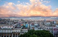 Rooftops of Havana at dawn