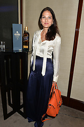 The UK Premier of Johnnie Walker Blue Label's 'Gentleman's Wager' - a short film starring Jude Law was held at The Bulgari Hotel & Residences, 171 Knightsbridge, London on 22nd July 2014.<br /> Picture Shows:-YASMIN MILLS.