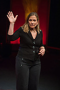 TRACY CHEVALIER, UnSeen Narratives, Ted Salon, Unicorn Theatre, Tooley St. London. 10 May 2012.