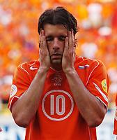 Ruud Van Nistelrooy Dejection<br />Holland EURO 2004<br />Holland v Czech Republic 19/06/04 EURO 2004 PORTUGAL<br />Photo Robin Parker Fotosports International