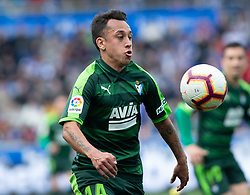 March 9, 2019 - Vitoria, Vitoria, Spain - Orellana, Sociedad Deportiva Eibar midfield,  during the spanish championship,  La Liga BBVA, match played between Deportivo Alaves  and Sociead Deportiva Eibar, at Mendizorroza Stadium, in Vitoria, Spain. 09, March, 2019, during the spanish championship,  La Liga BBVA, match played between Deportivo Alaves  and Sociead Deportiva Eibar, at Mendizorroza Stadium, in Vitoria, Spain. 09, March, 2019 (Credit Image: © AFP7 via ZUMA Wire)