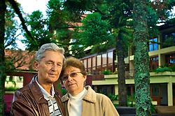 Ângelo Guaraldo Neto (75) e Vilma Ana Nascimento Guaraldo (65) durante as férias no complexo  turístico do Serrano Resort Convenções & Spa, em Gramado na serra gaúcha. FOTO: Jefferson Bernardes / Preview.com