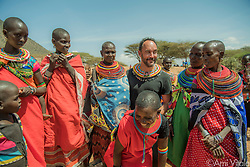 "Dave Matthews (@davematthewsband) shares a joke and is warmly welcomed by Samburu women during his recent visit. The name Samburu, which literally translates to mean ""butterflies,"" was given to the Samburu tribe by other tribes because of their layers and layers of gorgeous jewelry, face painting, and colorful clothing.<br /> <br /> The Samburu people are the force behind northern Kenya's Reteti Elephant Sanctuary (@r.e.s.c.u.e), the first ever community-owned and run elephant sanctuary in Africa. The sanctuary provides a safe place for injured elephants to heal and later, be returned back to the wild. You can support this incredible place and the people who protect wildlife. Make a $10 contribution in support of Reteti for a chance to win a trip to Kenya, see Dave Matthews in concert and take home Dave's guitar with @prizeo (Link in profile). Not only will you be helping care for orphaned baby elephants and strengthening community ties, you'll also have a chance to win a life-changing trip to see the sanctuary in person. The first $10,000 in funds raised will be generously matched by Elephant Gems (@elephantgems).<br /> <br /> Reteti operates in partnership with Conservation International (@conservationorg) who provide critical operational support and work to scale the Reteti community-centered model to create lasting impacts worldwide. <br /> <br /> Photo by @amivitale."