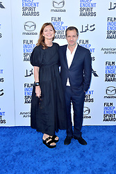 February 8, 2020, Santa Monica, Kalifornien, USA: Rose Batstone und David Heyman bei der 35. Verleihung der Film Independent Spirit Awards 2020 im Zelt am Santa Monica Beach. Santa Monica, 08.02.2020 (Credit Image: © Future-Image via ZUMA Press)