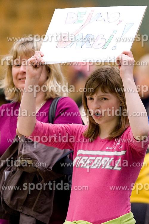 Family of Barbara Meglic of Slovenia at 7th Slovenia Open - Thermana Lasko 2010 Table Tennis Championships for the Disabled Factor 40, on May 6, 2010, in Dvorana Tri Lilije,  Lasko, Slovenia.  (Photo by Vid Ponikvar / Sportida)