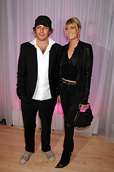 LADY EMILY COMPTON and DUSTIN BURGESS at the Lauren-Perrier 'Pop Art' Pink Party in aid of Capital 95.8's Help A London Child, held at Suka at the Sanderson Hotel, 50 Berners Street, London W1 on 25th April 2007.<br />