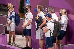 Team Great Britain<br /> Olympic Games Tokyo 2021<br /> © Hippo Foto - Dirk Caremans<br /> 27/07/2021
