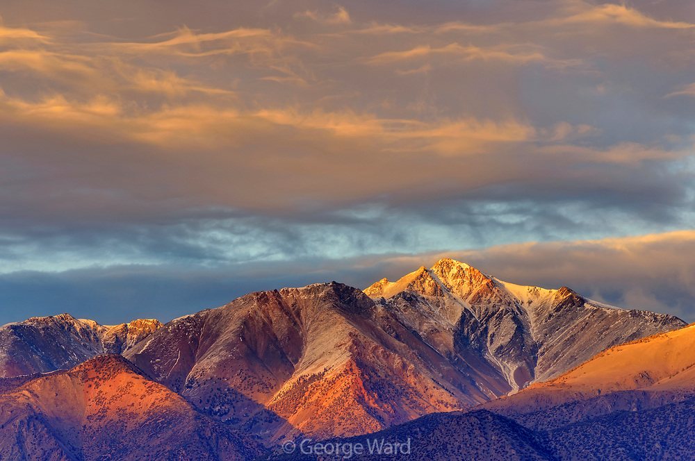 White Mountain from the Volcanic Tablelands, Inyo National Forest, Inyo County, Caifornia