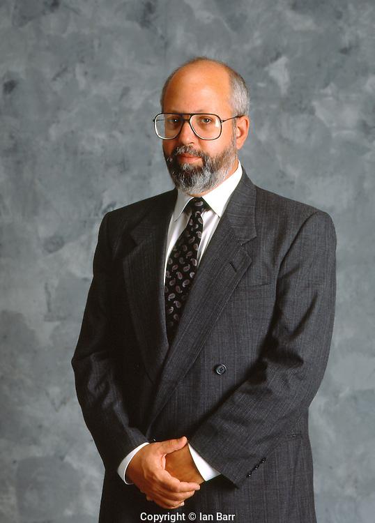 Portrait of Ed Nessle, Executive with Rexall/Sundown.