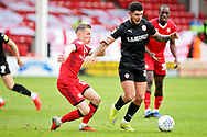 Barnsley midfielder Alex Mowatt on the ball during the EFL Sky Bet League 1 match between Walsall and Barnsley at the Banks's Stadium, Walsall, England on 23 March 2019.