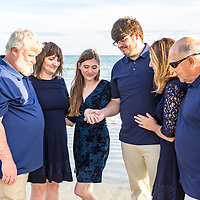 We become one. Family and surprise proposal